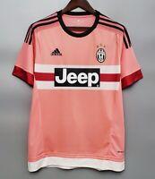 Juventus 2015 2016 Away Short sleeve Retro Football Jersey vintage Shirt