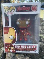 FUNKO POP! Iron Man Mark 43 *NEW Avengers 2 Age Of Ultron *Vaultrd *RARE 66