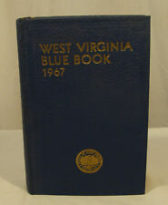 West Virginia Blue Book 1967 HB Who's Who's in Government + Road Map Myers V. 51