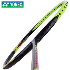 Yonex ASTROX 6 Badminton Racquet Black Lime Racket Shuttlecock 4UG5 with Cover
