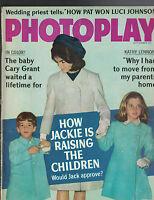 Photoplay Magazine September 1966 Jackie Kennedy Cary Grant Kathy Lennon