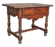 Table bureau Louis XIII en noyer époque XVIIIème