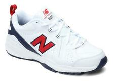 NEW BALANCE Men's Leather Sneakers in Red, White and Blue, Medium and XWide 4E