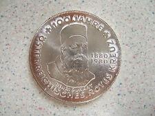 1980 (N.D.) AUSTRIAN SILVER 500 SCHILLING COIN.... JAHRE....  BUNC..     N.S