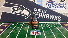 NFL Teenymates Seattle Seahawks Quarterback (QB/diamond plate helmet) Figure
