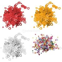 Mixed Hearts Wedding Table Confetti Party Decoration, Red,Silver,Gold, multi