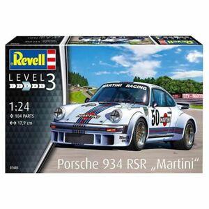 """Revell 1/24 Porsche 934 RSR """"Martini"""" Kit (New)"""