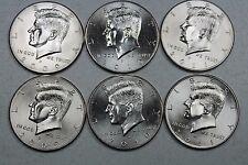 New listing 2009 2010 2011 P D Uncirculated Kennedy Half Dollar Set Mint Roll Set