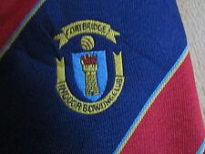 COATBRIDGE Indoor Bowling Club Tie by McDade Ties