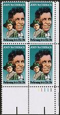 US USA Sc# 2090 MNH FVF PL# BLOCK John McCormack Opera Singer Tenor Music