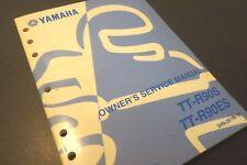 2003 Yamaha Tt-R90S Tt-R90Es Trail Motorcycle Service Shop Manual