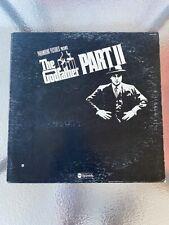 The Godfather Part Ii 1974 Vinyl Lp Soundtrack Rota/Coppola