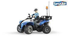 Bruder 63010 Polizei Quad mit Polizistin Woman Police Officer Neu 2015  Bworld