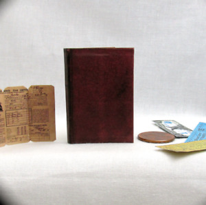 1:6 Scale JONES DIARY Book Illustrated Indiana Jones Holy Grail Diary