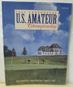 1995 U.S. AMATEUR PROGRAM-TIGER WOODS 2ND WIN IN A ROW  MINT CONDITION