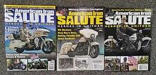 American Iron Salute Harley Collectible Magazine All 3 Issues