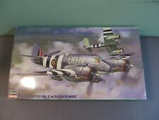 Hasegawa 1:72 Beaufighter Mk.X w/ 500lb Bombs Model Kit 51279 Open CP119