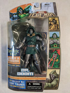 Marvel Legends Dr. Doom Fantastic Four Ronan the Accuser Used Hasbro complete