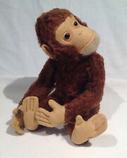 "Schuco ""Tricky"" Mechanical Yes No Monkey, 13� Long, German, 1950's or earlier"
