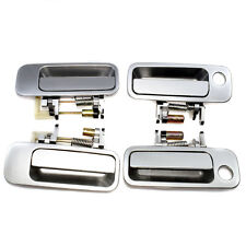 New Outer Outside Door Handle Handles For 1997-2001 Toyota Camry SILVER Set 4pcs