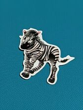 Zebra Vinyl Sticker Laptop Luggage Skateboard