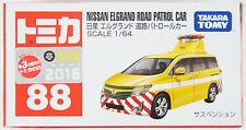 Tomy Tomica 88 Nissan Elgrand Road Patrol Car 843290