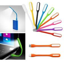 Flexible Mini USB LED Light Lamp For Computer Notebook Laptop Reading Bright AA