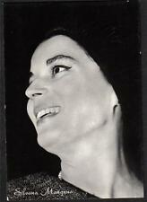 SILVANA MANGANO Cinema Star circa 1960 ITALY amazing Real Photo PC Vera foto
