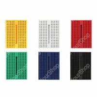 6Pcs 170 Tie-points Mini Solderless Prototype Breadboard for Arduino Shield
