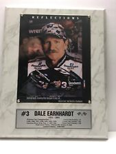 Dale Earnhardt Reflections 8x10 photo Plaque 1951-2001 LIMITED EDITION 1300/2001