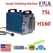110V H160 Oxygen Hydrogen Water Welder Flame Polisher Acrylic Polishing Machine