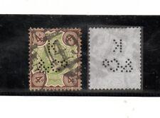 Gran bretaña Perforaciones Comerciales año 1887-900 (BP-235)