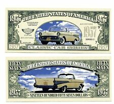 CHEVROLE 1957  Classic car  DOLLAR  BILL