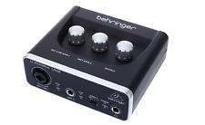 Behringer UM2 U-Phoria Audiophile 2x2 USB Audio Interface Studio Production DJ