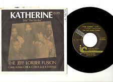 "JAZZ.JEFF LORBER FUSION & CHICK COREA.THE SAMBA /KATHERINE.U.S.ORIG 7""+PIC/SL.EX"