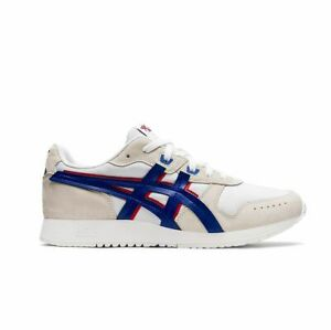 Asics Lyte Classic - 100 Trainer, White/Blue/Red