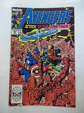 AVENGERS  #305  (1989)  9.0 VF/NM  SIGNED BY JOHN BYRNE