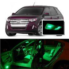 For Ford Edge 2007-2014 Green LED Interior Kit + Green License Light LED