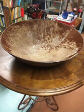Designer Extra Large Genuine Cowhide Bowl