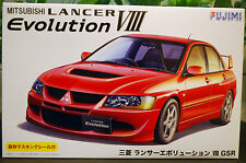 2004 mitsubishi lancer GSR Evolution VIII, 1:24, 039244 Fujimi