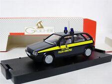 Giocher Italy 1/43 Fiat Tipo Polizia Minicipale Torino Diecast Model Car