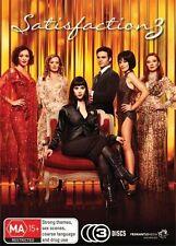 Satisfaction : Series 3 (DVD, 2010, 3-Disc Set) New/Sealed Region 4 season