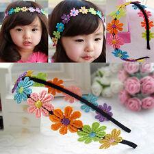 Fashion Flower Daisy alice Band Headband Hairband Beach Accessory For Girl Kids