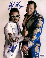 Honky Tonk Man & Jimmy Hart Signed 8x10 Photo PSA/DNA COA WWE Picture Autograph
