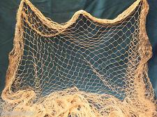 AuthinticFishing Net, Fish Net One Inch Hole Knotted Twine Nylon 75 Ft x 8 Ft