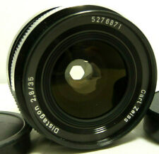 SUPER GREAT CONDITION USED CARL ZEISS DISTAGON 2.8/35 LENS 4 ROLLEI QBM CAMERAS