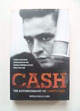 CASH THE AUTOBIOGRAPHY of JOHNNY CASH * PATRICK CARR * HARPER * P/B * 2006