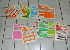 13 Issues Train Shed Cyclopedia Newton/Gregg published 1972-1978