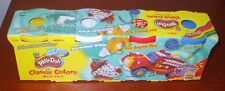 NEW Play-Doh Multi Pack Assorted Colors Set of 4 Classic Colors 2002 Fire Engine