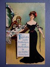 R&L Postcard: Birn Bros BB, Edwardian, Glamour Beauty Lady, make Up Cosmetics